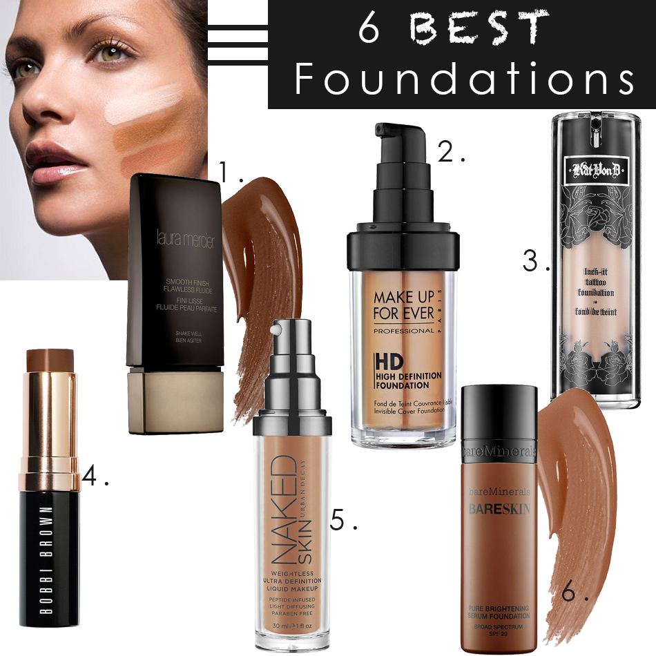 The 6 Best Foundations You Must Try - The Co ReportThe Co Report