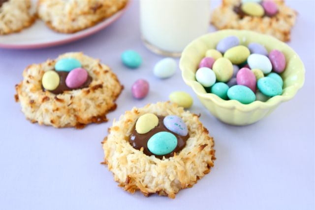 coconut-nest-cookies, easy dessert recipes, best dessert recipes ...